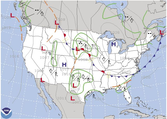 Significant Weather Prognostic Chart